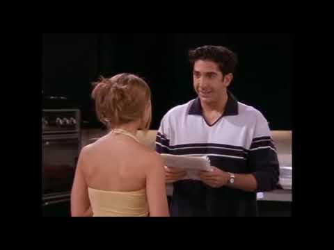 Download Friends Season 4 Episode 1, Rachel writes Ross letter