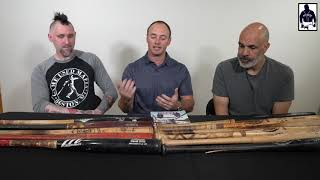 Collectors Dan Cleary, Nick Nunnari and Steve Masi discuss the importance of Photo Matching bats.
