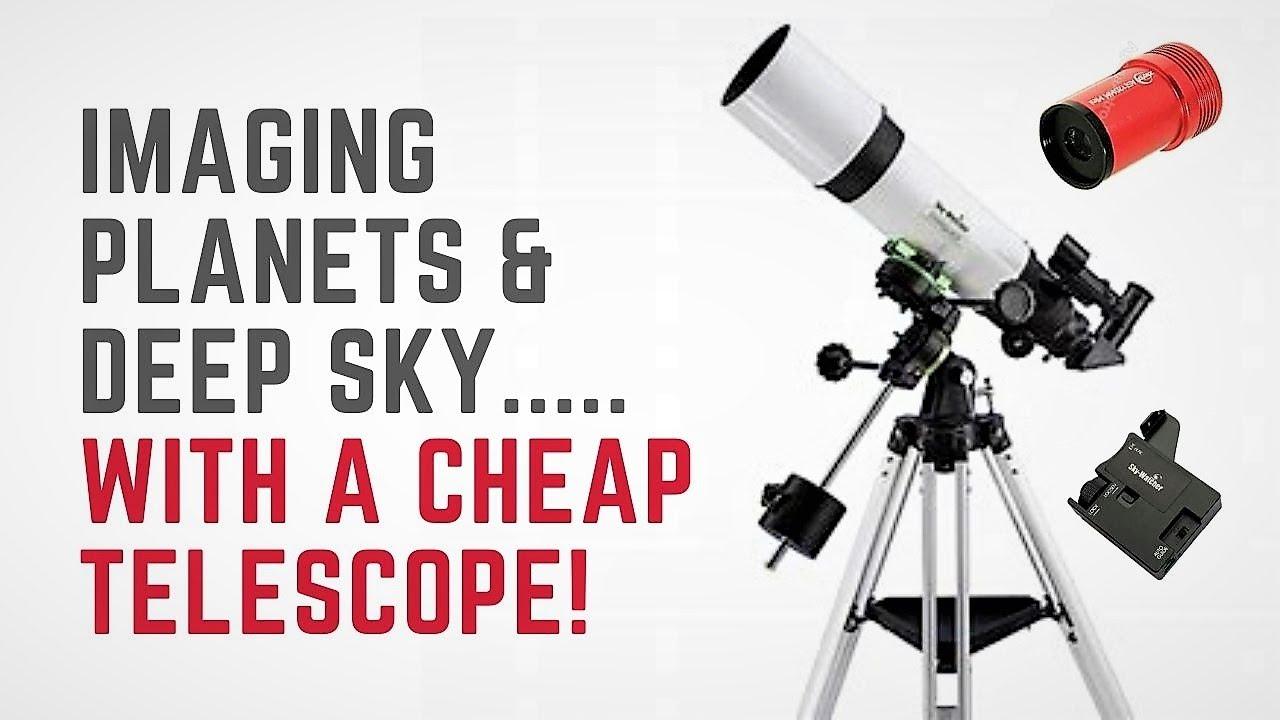 Skywatcher StarQuest 102 R & ZWO ASI120mm - Setup & First Light
