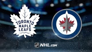 Toronto Maple Leafs Vs. Winnipeg Jets | NHL Game Recap | October 4, 2017 | HD