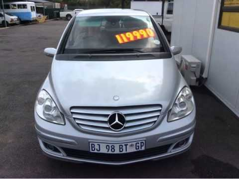 2007 MERCEDESBENZ BCLASS B200 TURBO Auto For Sale On Auto Trader