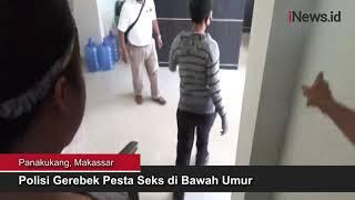 Polisi Gerebek Pesta Seks Anak di Bawah Umur