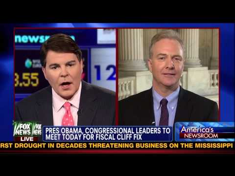 Rep. Chris Van Hollen owns Fox anchor Gregg Jarrett in