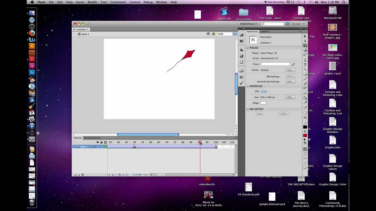 how to use tweens in flash