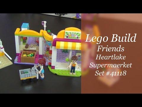 Let's Build - Lego Friends Heartlake Supermarket Set #41118
