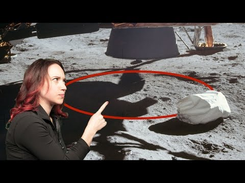 Why There Are No Blast Craters Under the Lunar Module
