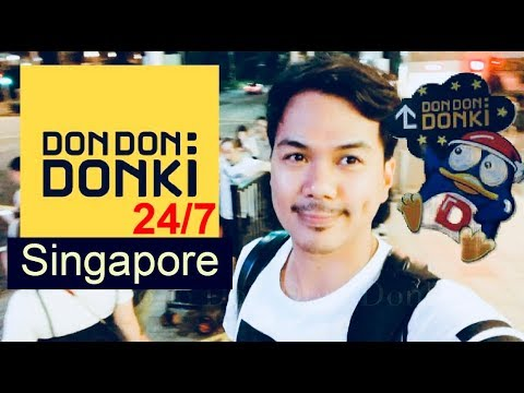 Don Don: Donki in Singapore | 1st time to Visit? 😆