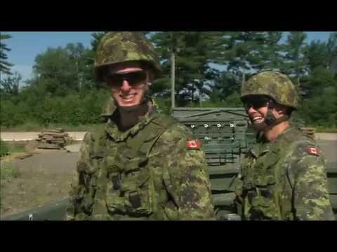 La vie dans l'Armée canadienne - YouTube