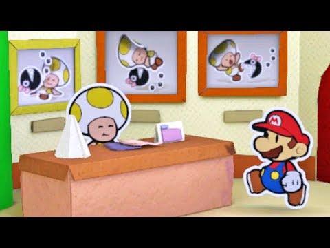 Paper Mario Color Splash #17: Atraindo a Princesa - Wii U Gameplay