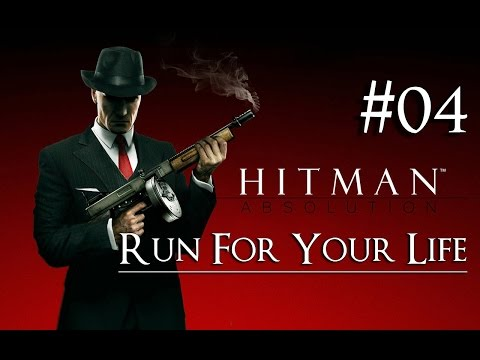 Hitman: Absolution 04 ( Run For Your Life ) Purist|No Kill|Suit Only|Evidence|All Challenges