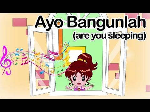 Ayo Bangunlah ( Are You Sleeping)  | Lagu Anak Indonesia