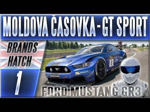 Moldova Časovka | #1 | Ford Mustang GR3 - Gran Turismo Sport CZ (Brands Hatch) thumbnail