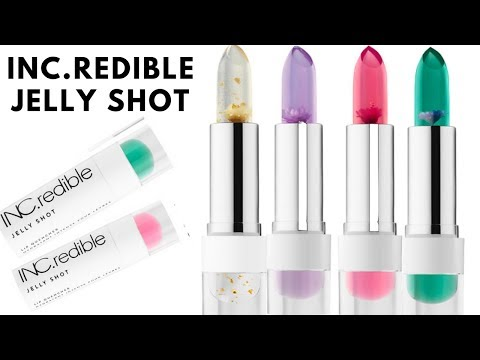 Inc Redible Jelly Shot Lip Quenchers Youtube