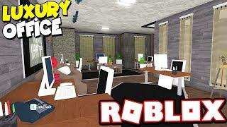 RICH LUXURIOUS OFFICE!!! | Bloxburg Adventures! (Roblox Bloxburg)