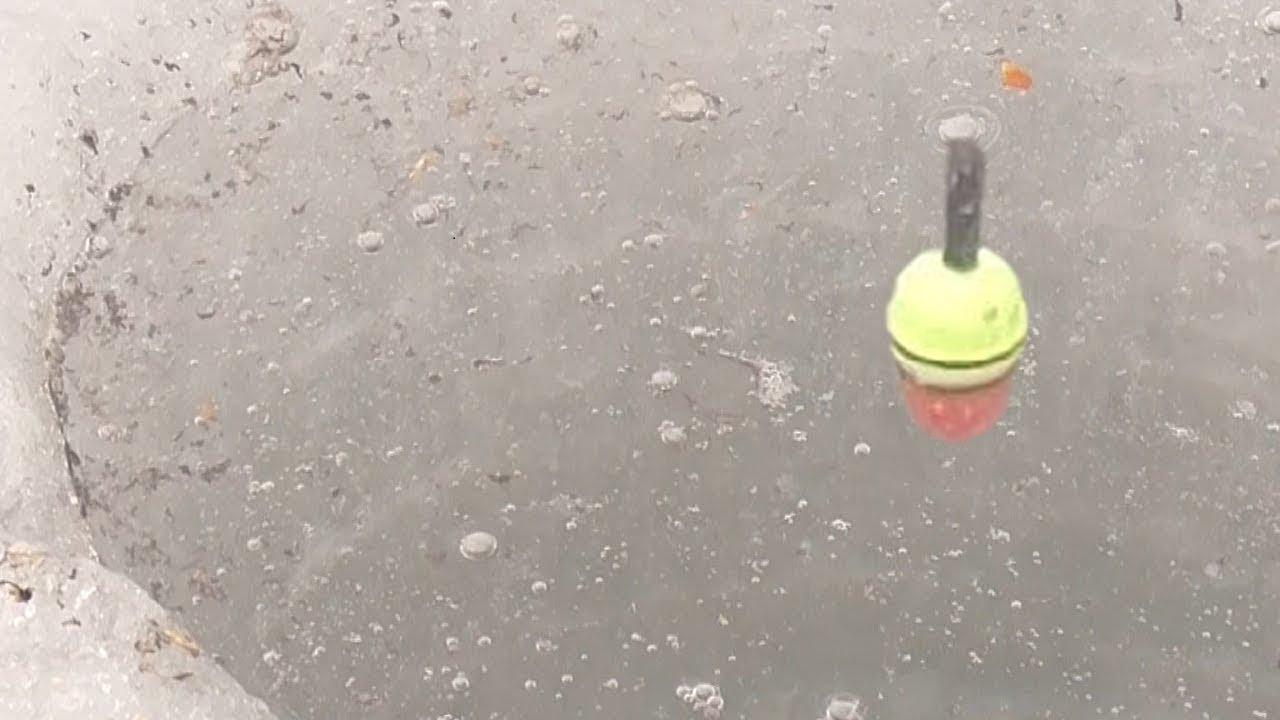 Рыбалка 2021 когда нашел стаю рыбы - ловля на поплавок зимой