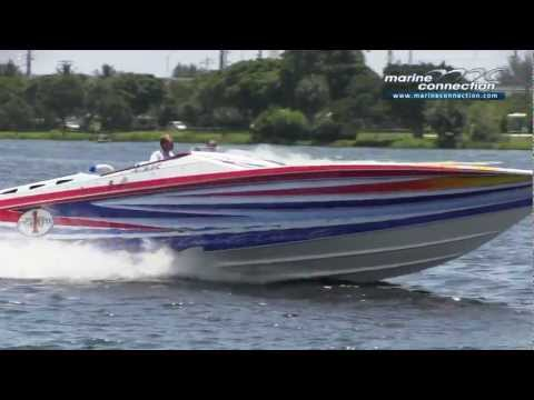 2005 Cigarette 42X, Triple Mercury Racing 525 Boat for Sale by Marine Connection Boat Sales