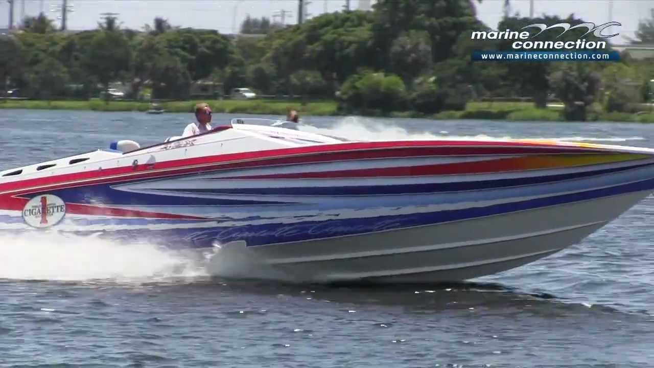 2005 Cigarette 42x Triple Mercury Racing 525 Boat For Sale By Marine Connection Boat Sales