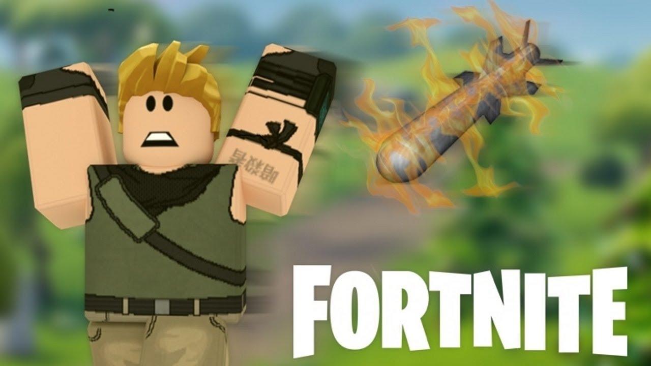 I Played Fake Fortnite On Roblox... - YouTube