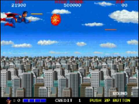 Superman the video game - Arcade