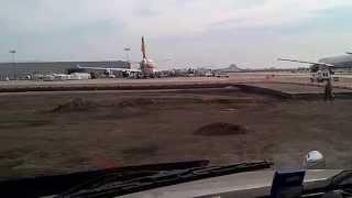 Trabalhando no aeroporto de newark
