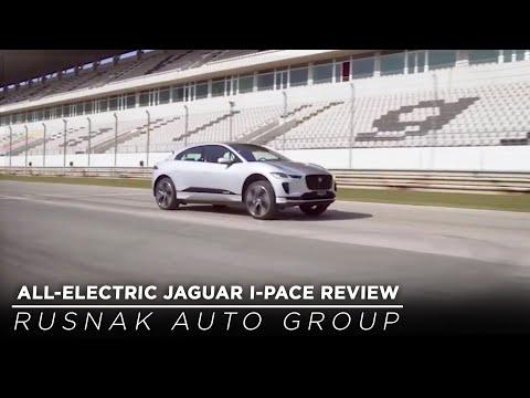 All-Electric Jaguar I-PACE Review - Rusnak Auto Group