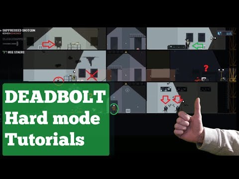 HARD MODE NO FAILS! 100% COMPLETE / Let's play DEADBOLT FULL GAMEPLAY