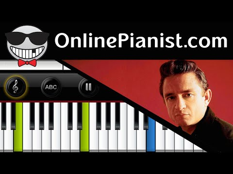 How to play A Boy Named Sue by Johnny Cash - Piano Tutorial