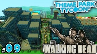 NEW Theme Park Tycoon! Ep. 9: THE WALKING DEAD PARK | Roblox