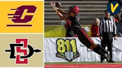 Central Michigan vs San Diego State Highlights | 2019 New Mexico Bowl | College Football