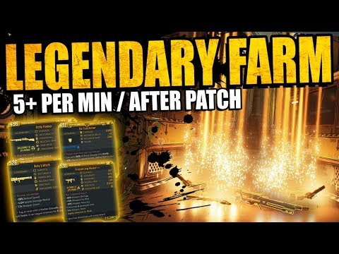 "Borderlands 3: ""NEW"" INSANE LEGENDARY FARM - After Patch - 5+ Per Minute - Fast New Loot Tink Method"