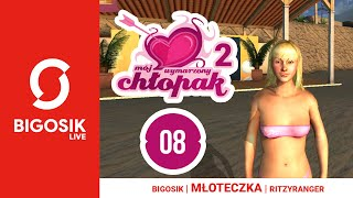 💋 MÓJ WYMARZONY CHŁOPAK 2 #08 z Młoteczką i Ritzim - My pracujemy, a Ola się opala!