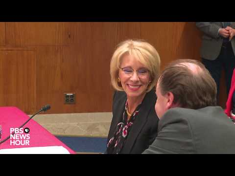 WATCH: Education Secretary Betsy DeVos to go before Senate committee