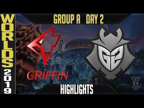 GRF vs G2 Highlights Game 1 | Worlds 2019 Group A Day 2 | Griffin vs G2 Esports - LCK vs LEC