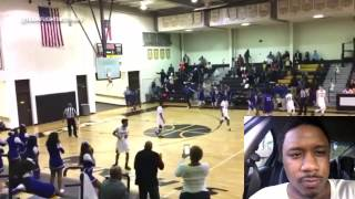 High schooler Isaiah Banks shatters the backboard With viscous Dunk!!!!! | The Man LB