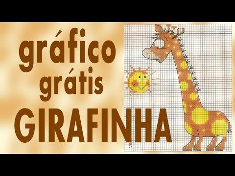 GIRAFINHA - Gráfico PONTO CRUZ grátis
