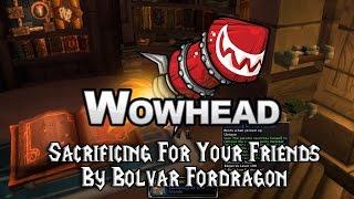 sacrificing for your friends by bolvar fordragon