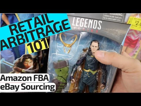 Amazon FBA for Beginners 'Retail Arbitrage' | How To Source at Walmart
