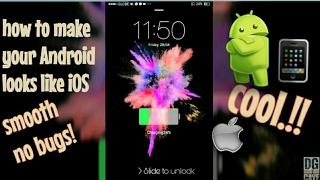 How to make OPPO F1s Looks Like iPhone screenshot 5