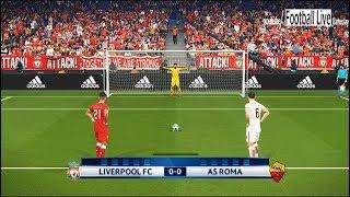 Pes 2018   liverpool fc vs as roma   uefa champions league (ucl)   penalty shootout