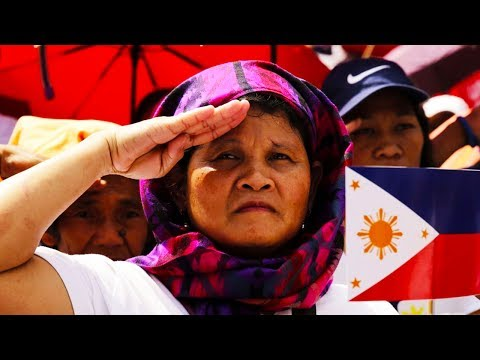 Enthusiastic National Anthem Singing Now Mandatory In The Philippines