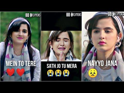 Naiyo Jaana | Shirley Setia | Full Screen WhatsApp Status Video | 💖DV Creations💖
