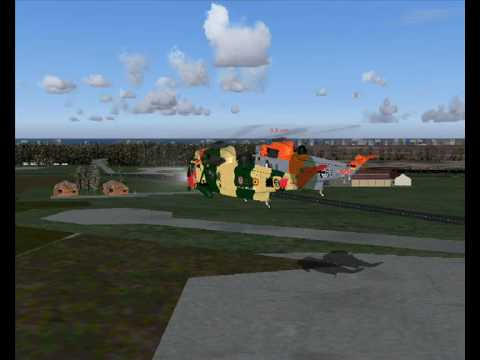 FS2004 AlphaSim Westland Seaking RS01