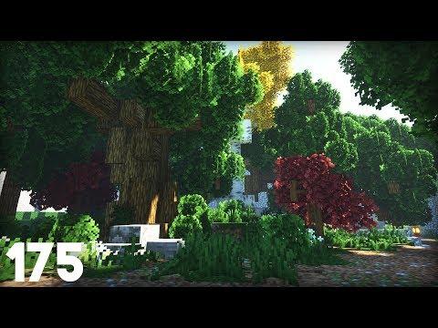 Custom Forest! | Building Big W/ Jerm #175 | Survival Minecraft
