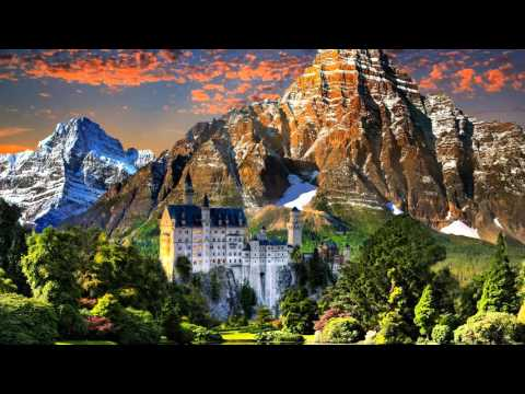 Neuschwanstein Castle, Bavaria - Germany. HD Travel.
