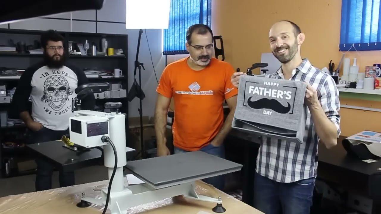 d4aace1c5 Estampar camisas de algodão cores escuras com sobreposição - YouTube