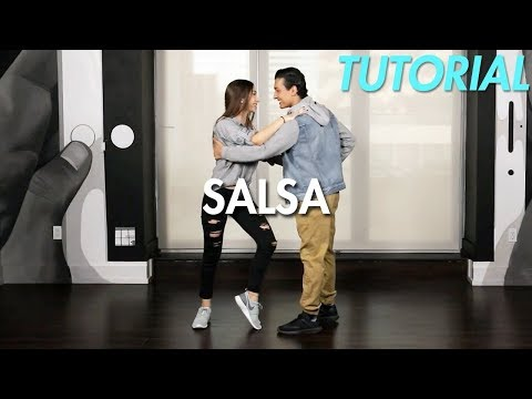 How to Salsa: Cross Body Lead (Ballroom Dance Moves Tutorial) | MihranTV