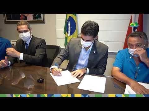 Governo do Estado assina ordem de serviço para construção da Unidade Integrada de Polícia na Taboca.