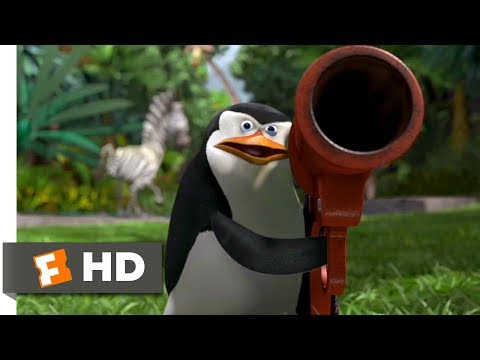 Madagascar (2005) - Penguins to the Rescue Scene (9/10) | Movieclips