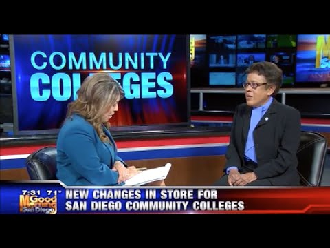 KUSI News: Chancellor Constance Carroll on New Changes in Store for SDCCD