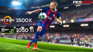 PES 2018 on Ryzen 1500X & Nvidia GTX1050 Ti